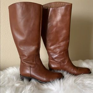 Franco Sarto boots. Wide shaft